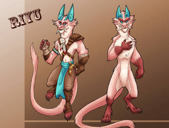 Riyu Redesign by CazadorR