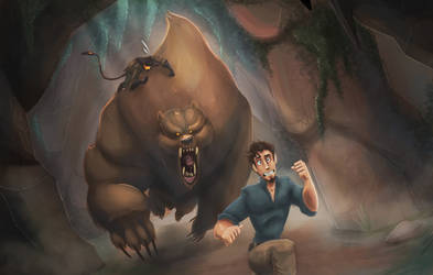Bear Attack by CazadorR