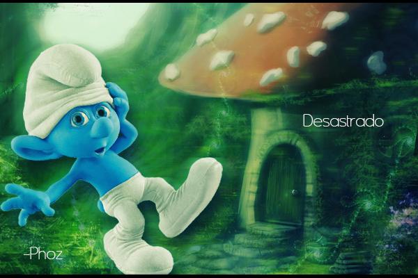 Desastrado - Smurfs Desastrado_by_iphoz-d4jroi8