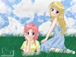 Anime Girls Wall - ver 1 by Narika-chu