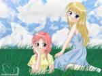 Anime Girls Wall - ver 1