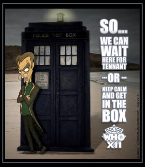 Dr Who XII GET IN THE BOX with Tash