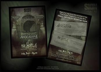 Play Poster: Birdman Apocalypse Double Bill