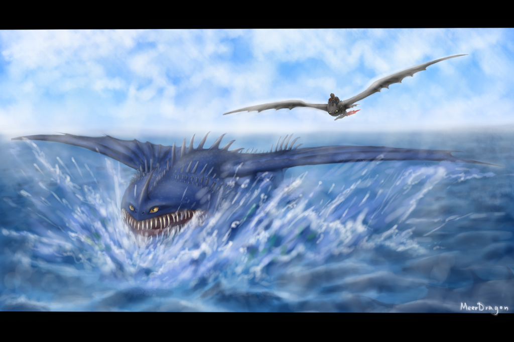 thunderdrum and toothless by meerdragon on deviantart