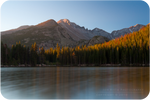 .: Longs Peak Morning Glow :.