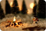 .: Snowman vs the Flame :.