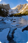 .: Dream Lake in Winter :.