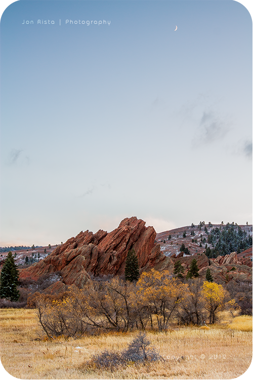 .: Moonset over Roxborough :. by jon-rista