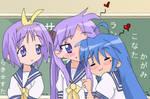 Konata is Lucky