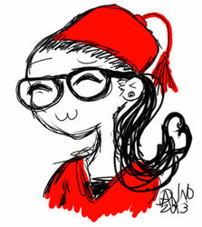 Cosima In a Fez! by SmileWhenDead