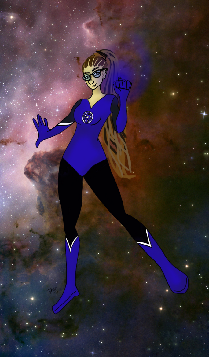 Cosima Niehaus: Blue Lantern by SmileWhenDead