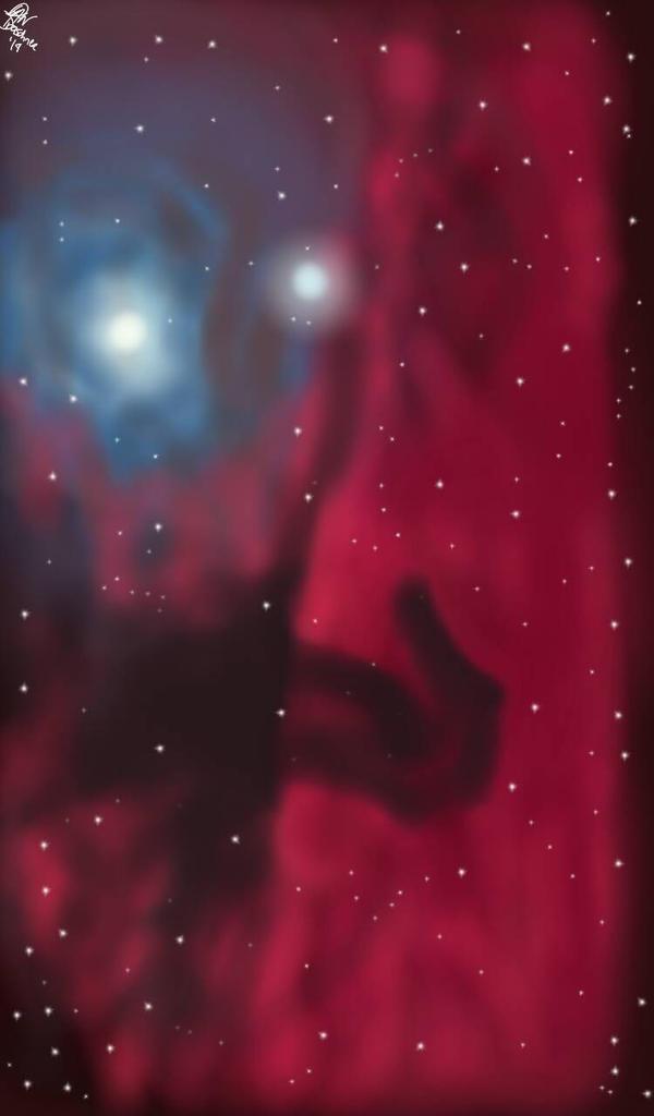 Horsehead Nebula by SmileWhenDead