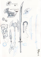 Weapons Of Surikain Fury by Krillin