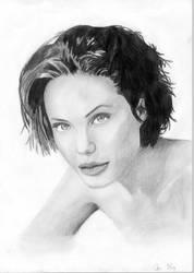 Angelina Jolie by Moppi