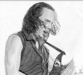 Kirk Hammett by Moppi