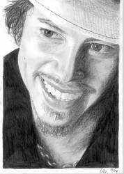 Kirk Hammett Portrait by Moppi