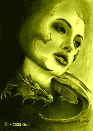 Dragon Lady by G-o-tt-i