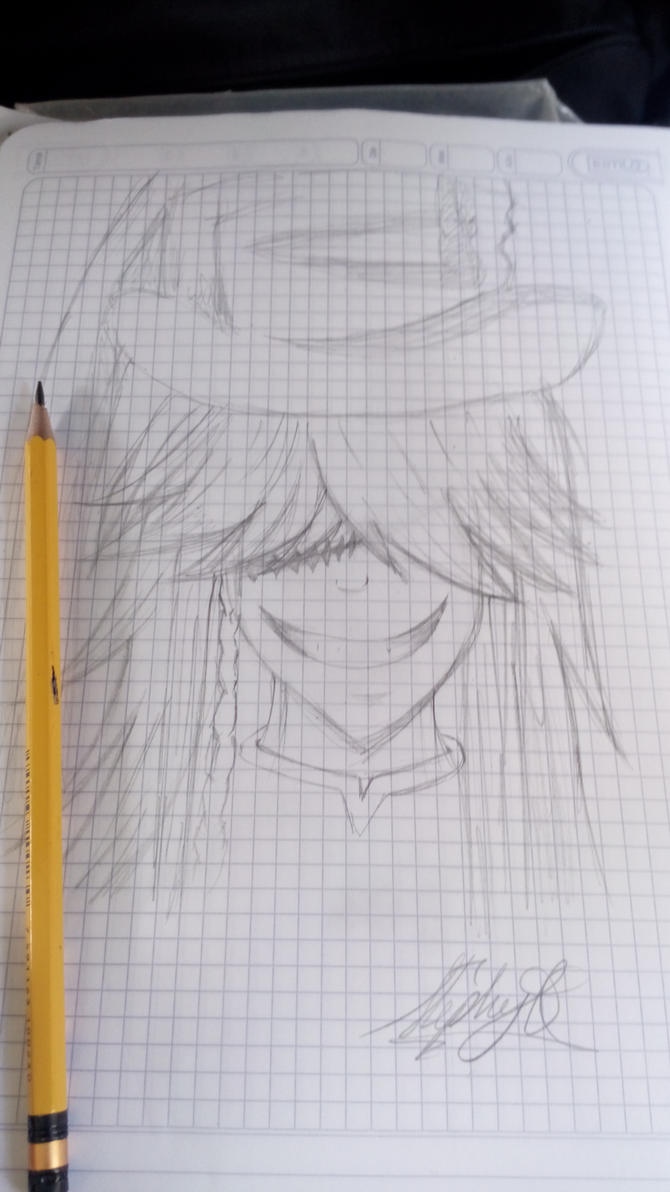 Undertaker sketch  by DannielleStefPhantom