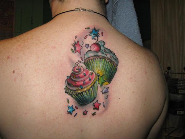Cupcakes Tattoo