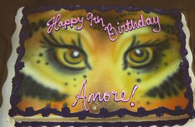 Tiger Eyes by AingelCakes
