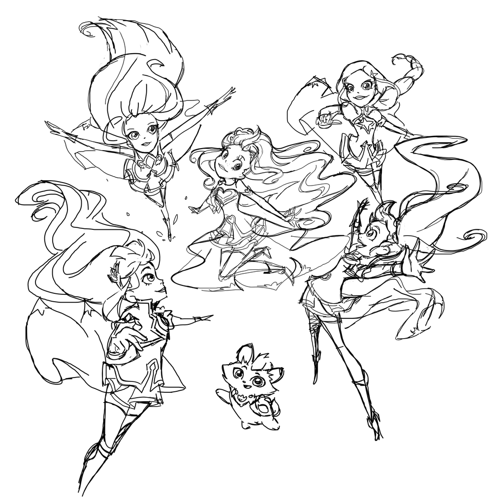 It's just a picture of Irresistible Lolirock Coloring Pages