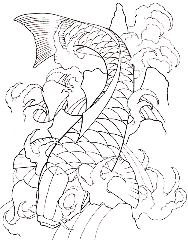 Koi Fish Art Designs