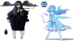 GA: Onyx and Aquamarine
