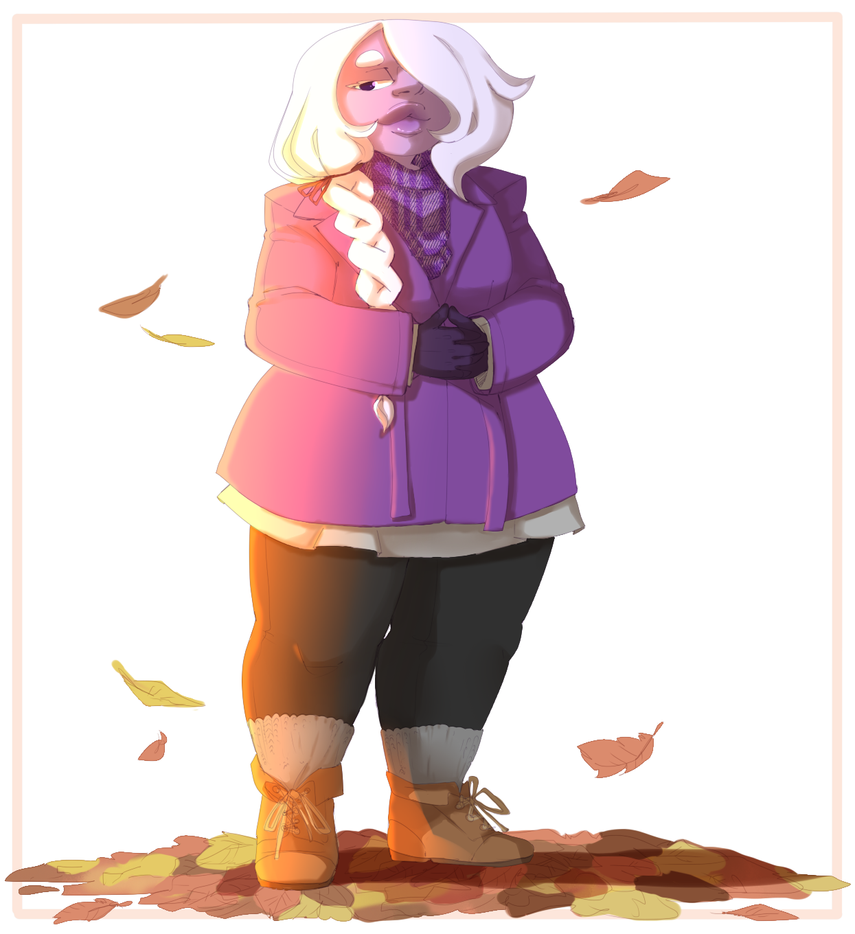 I loved doing this one, it's my favorite so far, even if it's still one of the first ones aha. I love fall fashion, and I made it just in time too! The leaves are already yellowing arou...