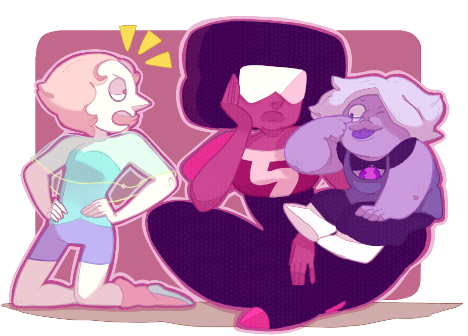 they were so cute wtf i knew i was gonna draw them eventually after i saw Story For Steven for the first time... so here they are finally! 8))) steven universe [c] Rebecca Sugar