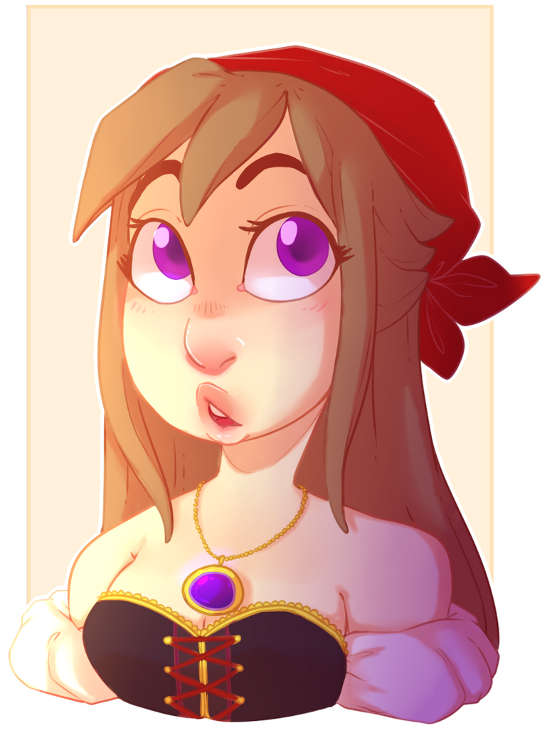 Bust Commission for HizukiNoriega by kyoukorpse