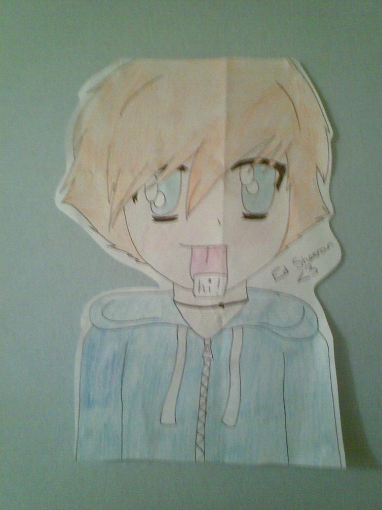 Ed Sheeran Manga Style by Dizzy-Melodies