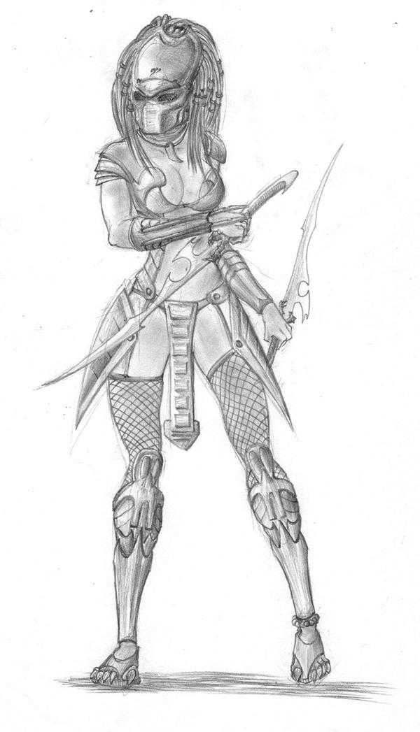 Female Predator II By Tmac1kobe8vc15 On DeviantArt