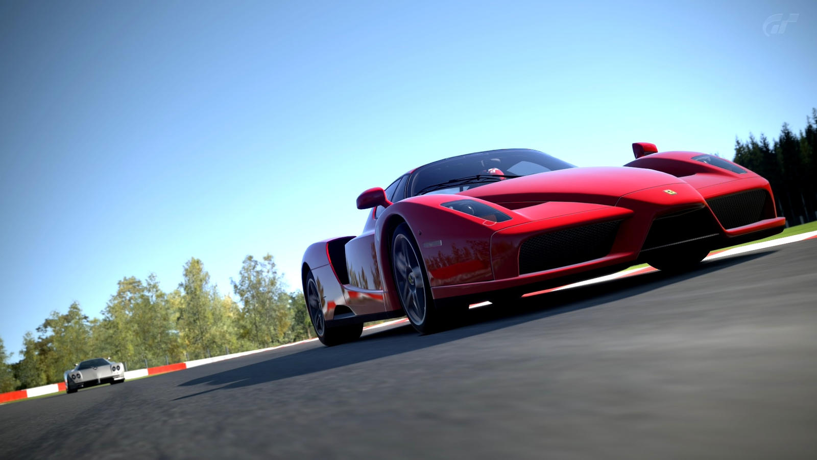Gt 6 Ferrari Enzo Circuit De Spa Francorchamps By
