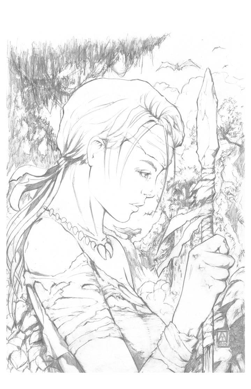 Jungle Girl - The Valley by artofadamlumb