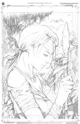Jungle Girl - The Valley - with crop guides by artofadamlumb