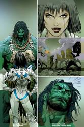 Hulk1pg17inks final by artofadamlumb
