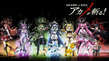 Pokemon Akame Ga Kill Crossover 2 by Luna-Sirens