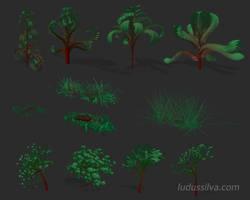 Ludus silva Plant Editor - early prototype by jayelinda
