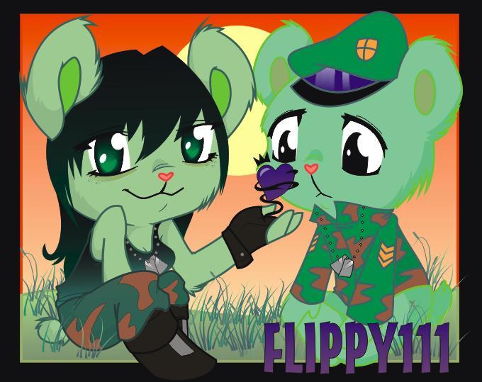 happy tree friends flippy favourites by shadowhunter295 on DeviantArt