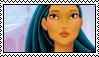 DP Stamp: Pocahontas by Kennaleecat