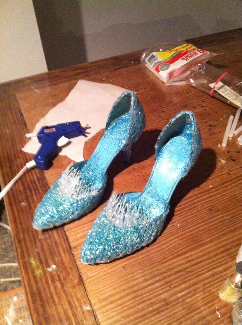 My Elsa Shoes by Kennadee