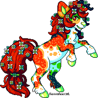 Peyton Pixel Experiment by Kennaleecat