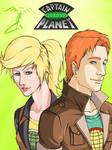 Linka and Wheeler by Lonirisme