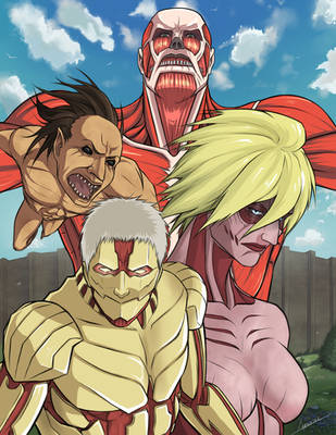 Attack On Titan by Lonirisme