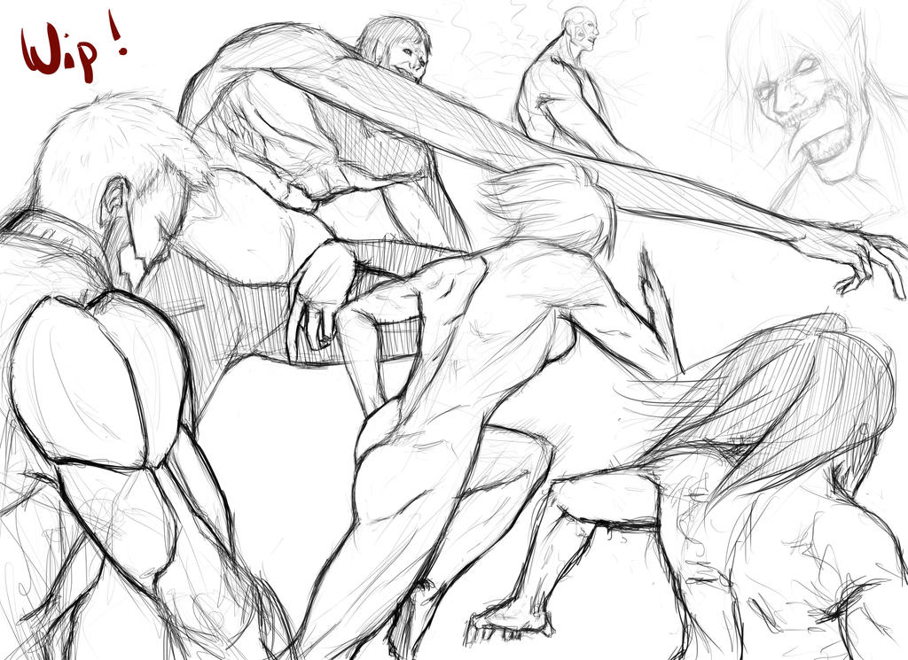 Attack on Titan !!WIP!! by Lonirisme