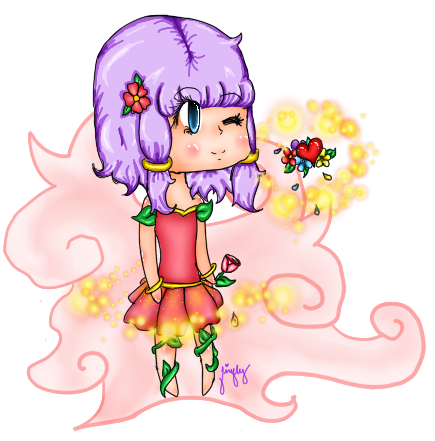 Flower Sprite by fireflyinnocence