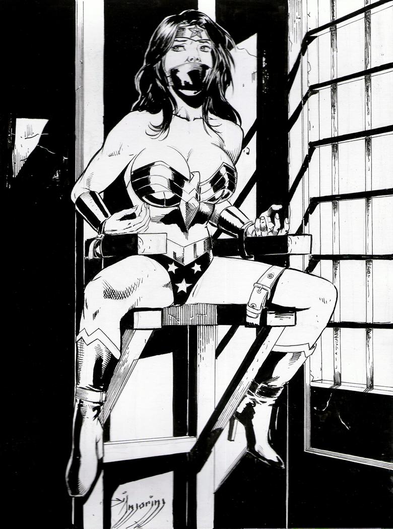 Wonder Woman Bondage Art 69