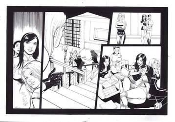 Bikini-bandit-origins#01 Pencil Ink By Diamorim Pa