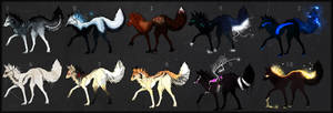 Adopts: 10 Canine.s ..+CLOSED+..