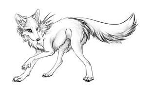Free Canine LineART